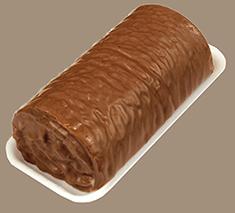 Руло с какаова глазура и ванилов крем