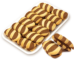 Бисквити Верона с какаов крем