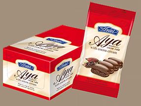 Бис-кейк Айа с крем какао